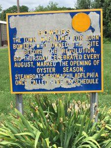 Old Historial Marker Sign