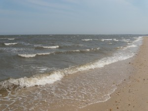 A rougher Delaware Bay