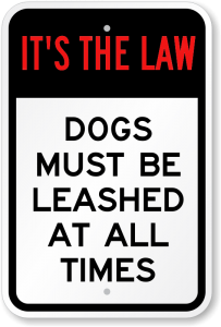 Image result for dog leash law