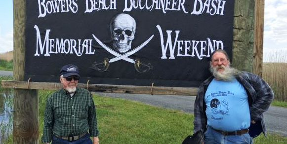 Bowers Buccaneer Bash sign